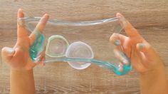 Renkli Şeffaf Kristal Slime | İnstagram Slime