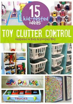 Toy clutter