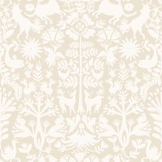 Removable Wallpaper Otomi (Cream) Tile