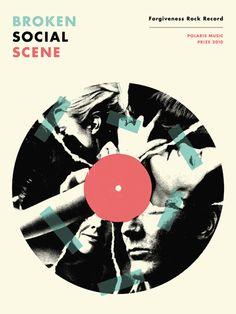 Poster for Broken Social Scene.