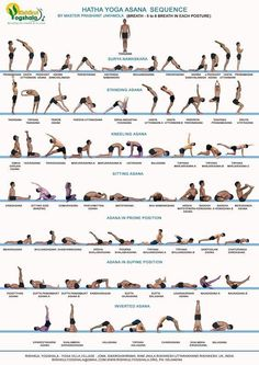ancient hatha yoga sequences - Buscar con Google #YoYoYoga-PosesandRoutines #yogasequence