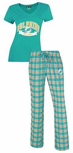 Miami Dolphins NFL Women's Shirt and Pajama Pants Sleep Set, http://www.amazon.com/dp/B0179FMMB8/ref=cm_sw_r_pi_awdm_gr2owbZA57HAG