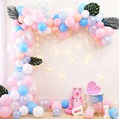 Balloon Arch Diy, Balloon Garland, Balloon Clouds, Party Garland, Bridal Shower Balloons, Wedding Balloons, Gender Reveal Balloons, Baby Shower Gender Reveal, Birthday Balloon Decorations
