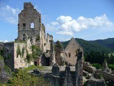 Hochburg Castle Ruins, Germany, 2 hours from Stuttgart