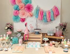 ... + Nina Designs + Parties: FIESTAS: BABY SHOWER LITTLE FLAMINGO