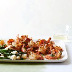 Grilled Shrimp with Miso Butter - Food & Wine