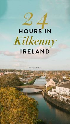 Visiting Kilkenny Ireland, known for the Medieval Mile and Marble City. Make sure to visit Kilkenny Castle, one of the best castles in Ireland that you can tour! #ireland #castles #irelandtravel ireland itinerary, photos of ireland, irish castles, irish cities, ireland things to do