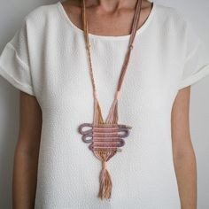 Yilan Necklace by Lesh | http://adornmilk.com