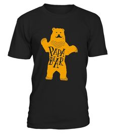 Papa Bear Father's Day Gift T-Shirt