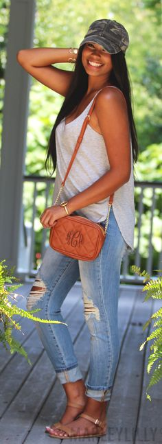 NEW TRENDY ARRIVAL! Shop our Monogrammed Quilted Cross Body Clutch! Get it on SALE now!
