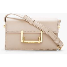 holy crap, this may be the most perfect little shoulder bag ever // SAINT LAURENT Small Beige Leather Lulu Shoulder Bag Leather Purses, Leather Handbags, Leather Bag, Soft Leather, Beige, Mk Bags, Leather Keychain, Clutch Bag, Leather Shoulder Bag