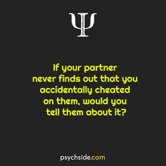 Psychological Questions & Facts, Psychology Questions Psychology Questions, Psychology Says, Science Facts, Cheating, Mental Health, Relationship, Sayings, Lyrics, Relationships
