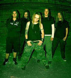Children Of Bodom, a Melodic Death Metal band from Finland. One of the best bands ever... period.