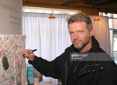 Aidan Quinn during 2007 Park City - Philips Lounge at Village at the Lift - Day 6 at Philips Lounge in Park City, Utah, United States.