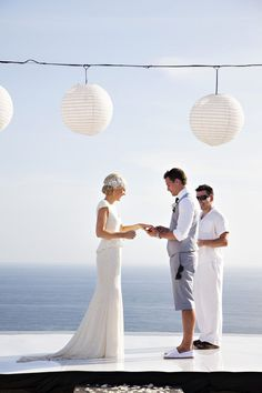 Style The Aisle - Unique Wedding Altar Ideas - You Mean The World To Me : You Mean The World To Me