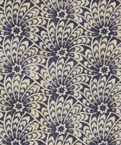 Liberty Art Fabrics Capello Shell Cotton Linen in Blue Eyes | Roll Stock | Liberty.co.uk