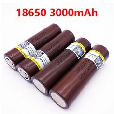 4 stücke LiitoKala100 % Original für LG DB HG2 18650 batterie 3000 mAh batterie 3,6 V entladung 20A gewidmet elektronische zigarette
