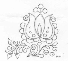 Folk Embroidery, Hand Embroidery Designs, Embroidery Stitches, Embroidery Patterns, Machine Embroidery, Diy Fashion Hacks, Tole Painting Patterns, Native American Beadwork, Art Drawings Sketches Simple