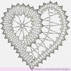 Идея + Крючок + Схема = Сердечко. Вяжем и отдыхаем – БЛОГ ДОРИС ЕРШОВОЙ
