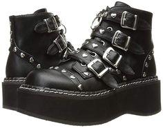 "High Heels Pleaser Shoes Damenschuhe Demonia /""EMILY-315/"""