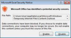 Na seznam nebezpečných přípon si přidejte: IQY - VIRY.CZ Microsoft Excel, Microsoft Office, Internet, Windows, Content, Google, Ramen, Window