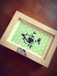 Cute Owl Paper Cut - Cut With Love <3