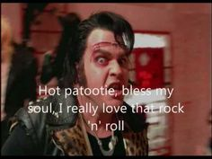 """""""What ever happened to Saturday night?""""  Hot Patootie - Bless My Soul (Rocky Horror Picture Show)"""