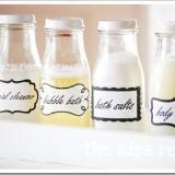 Frappacino Bottle Ideas