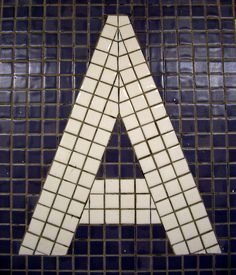 "new york subway, tile ""a"""