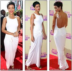 Rhianna in WHite