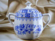 Cukiernica porcelana china blau sygnowana