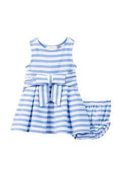 kate spade new york - Jillian Dress & Bloomer Set (Baby Girls) at Nordstrom Rack. Free Shipping on orders over $100.