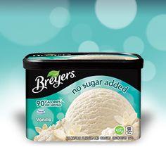 Breyers® - No Sugar Added - Vanilla
