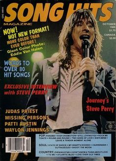 Jade Aurielle uploaded this image to 'steve perry'. See the album on Photobucket. I Am A Singer, Journey Band, Journey Steve Perry, Waylon Jennings, Song Words, Eddie Van Halen, Judas Priest, Love Me Forever, Rock Concert