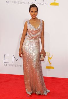 Kerry Washington in Vivienne Westwood at the 2012 Emmys