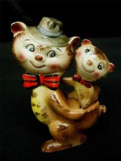 Vintage Salt Pepper Cat Kitty Kittens Made in Japan Figurines H 644 | eBay