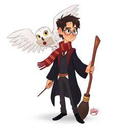 Harry Potter by LuigiL