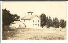 MICH RPPC School Paris Michigan Real Photo Postcard....Paris, Michigan is on one of my bicycling trails
