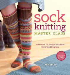 Sock Knitting Master Class: Innovative Techniques + Patterns from Top Designers von Ann Budd http://www.amazon.de/dp/1596683120/ref=cm_sw_r_pi_dp_hdR0vb1NWZ970