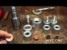 Making Copper Bullet Jackets: Machining Punching & Drawing Dies! Part 1 - YouTube