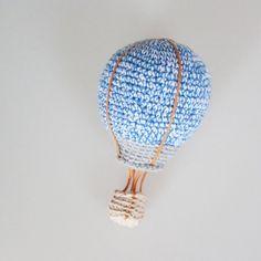 Stor Luftskipper - Hæklet Luftballon