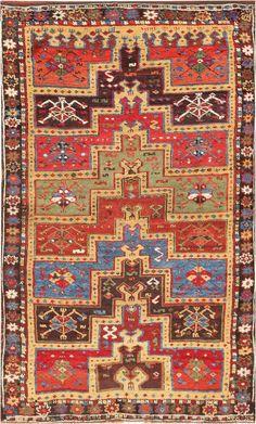 Antique Turkish Tribal Yuruk Prayer Rug 47380 Detail/Large View - By Nazmiyal Persian Carpet, Persian Rug, Turkish Rugs, Textiles, Art Chinois, Art Japonais, Prayer Rug, Patterned Carpet, Tribal Rug