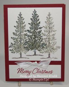 Lovely as a Tree Christmas card