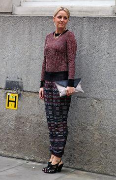 Texture + Printed Texture | Street Fashion | Street Peeper | Global Street Fashion and Street Style
