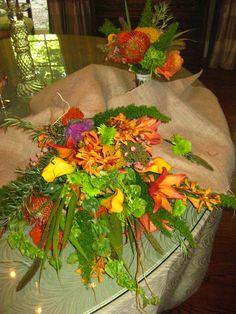 organice arm bouquet...