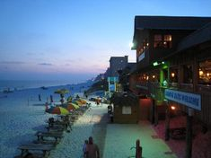 The Back Porch, Destin, Florida, View from inside table <3