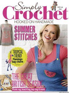Simply Crochet №59 2017 - 轻描淡写 - 轻描淡写