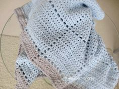 Free crochet pattern for baby blanket by elisabeth andrée