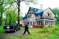 Mitt Romney's boyhood home  - (5,000 sq. feet) at 1860 Balmoral Drive - is abandoned and will be demolished.  As recently as 2002, the house sold for $645,000.