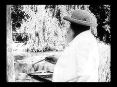 Film of Impressionist Painter Claude Monet at Work - This is unique film of great Impressionist painter Claude Monet (1840-1926) at work on a canvas en plein air.
